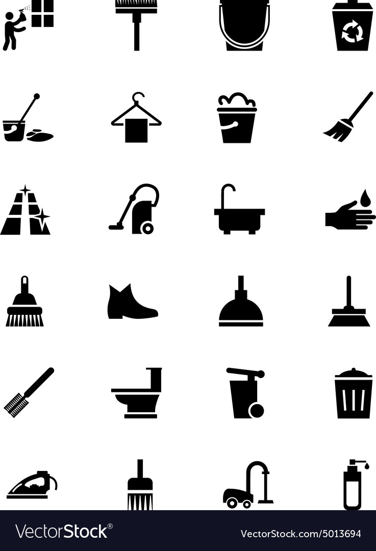 Cleaning Icons 2
