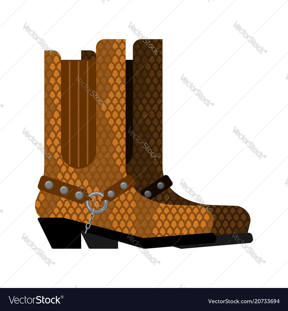 Cowboy boots made python leather australia shoes