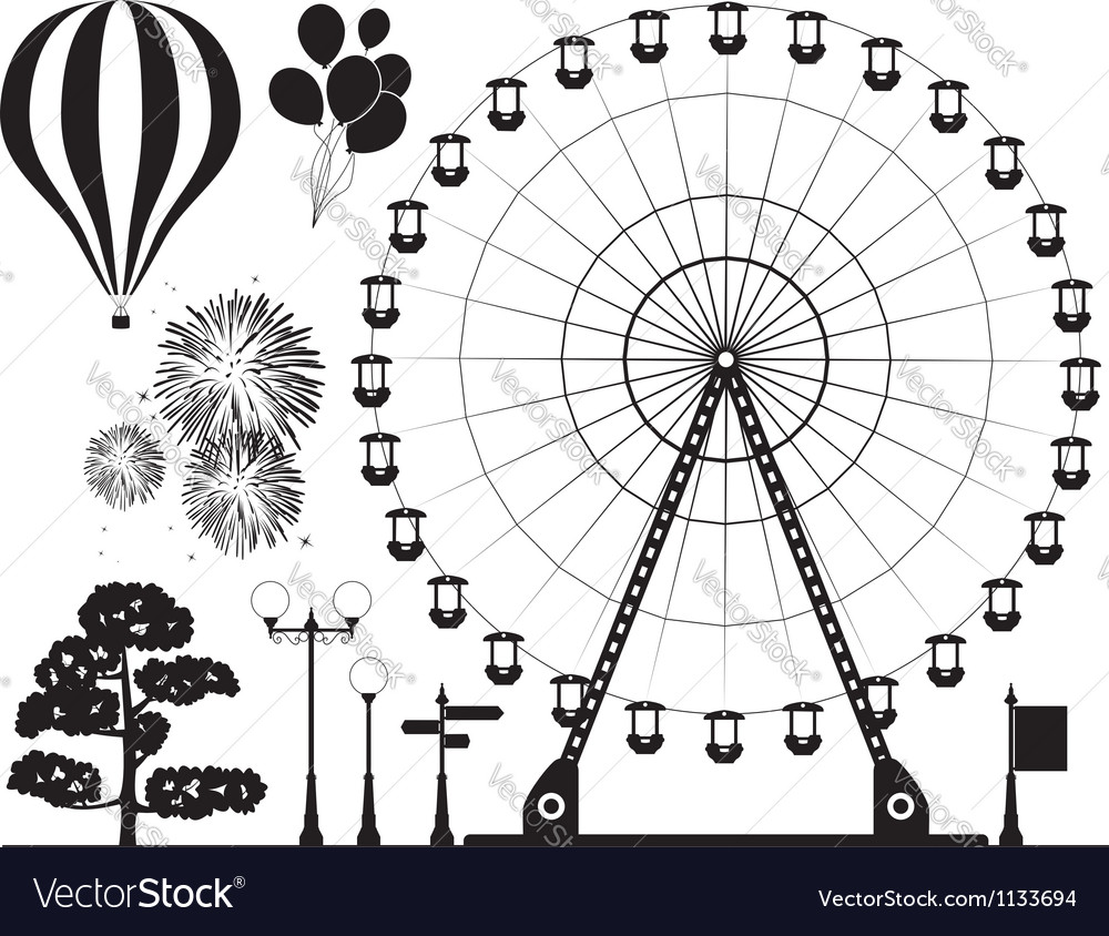 Elements of amusement park