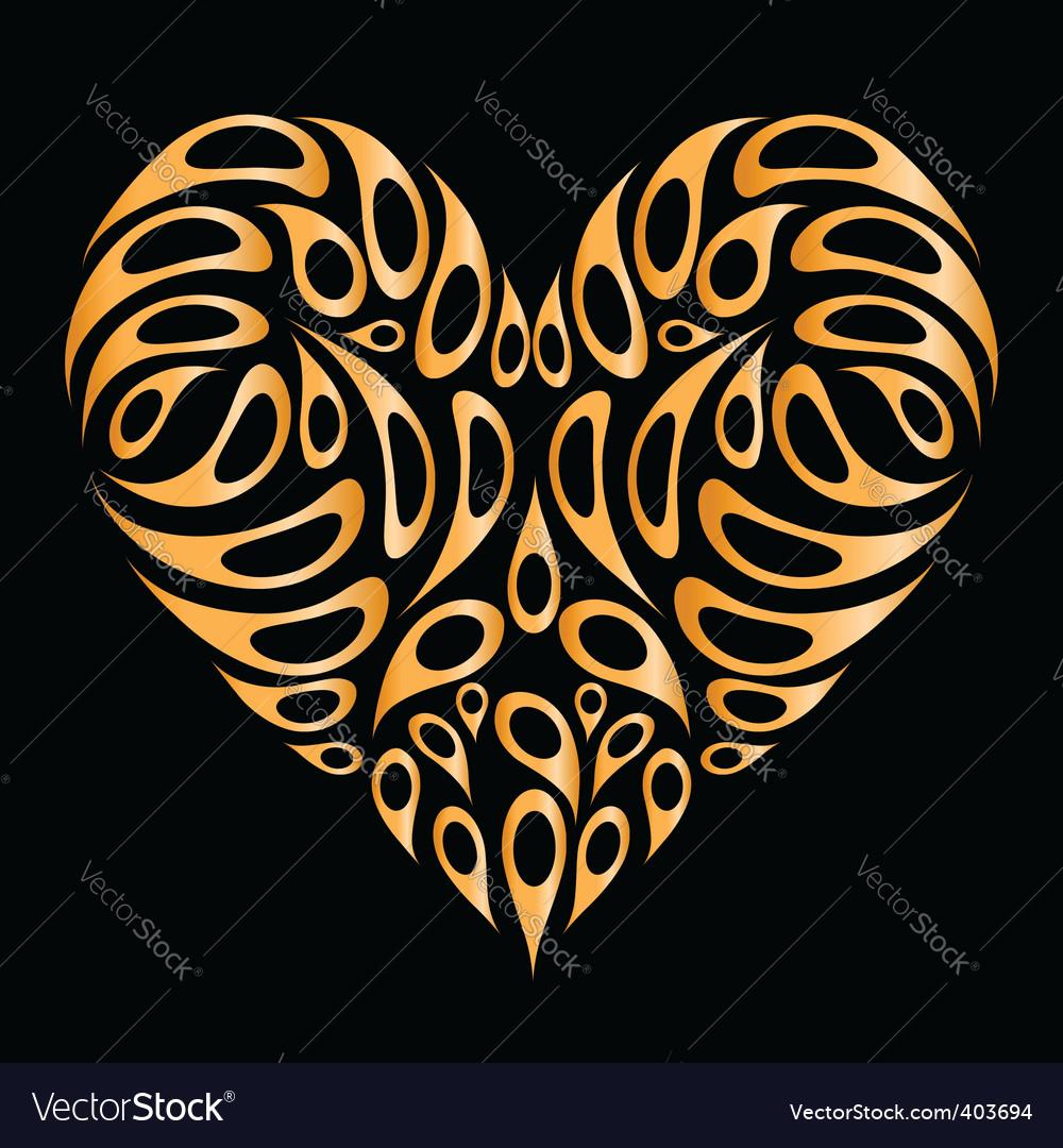 Heart design element