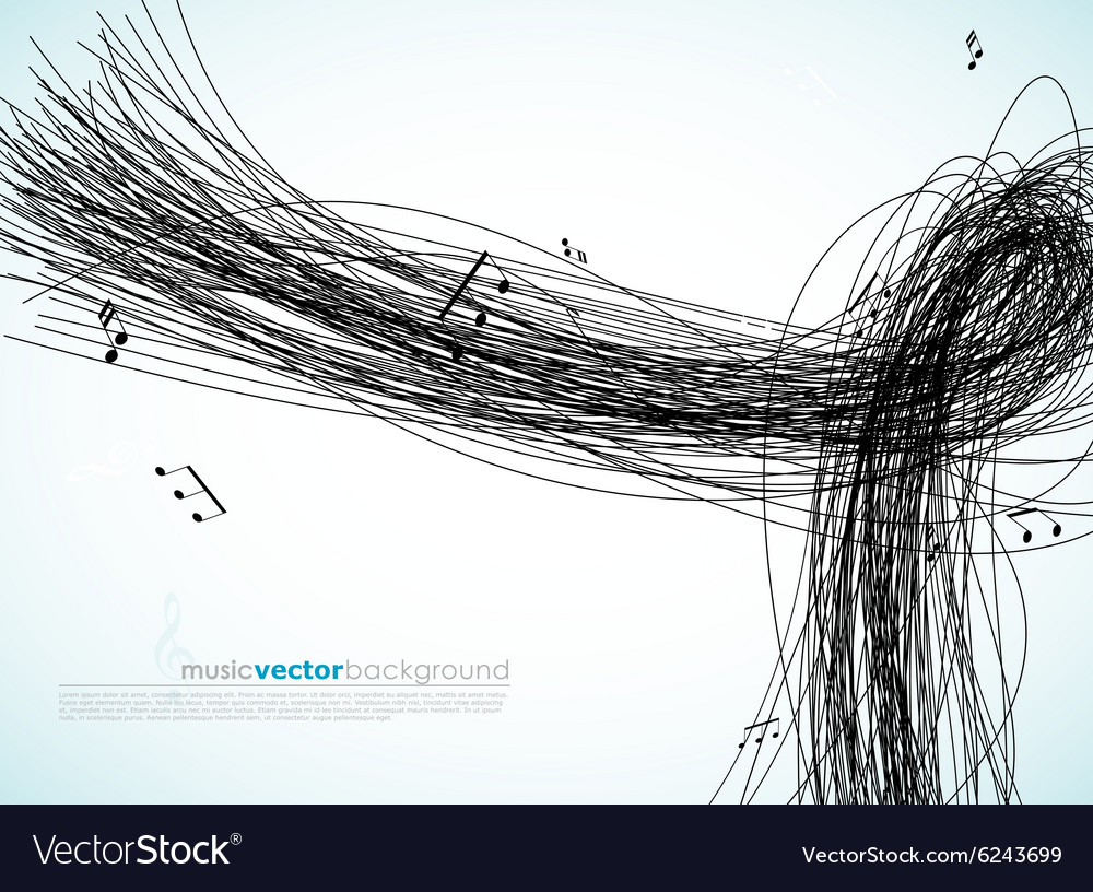 With lines and tunes
