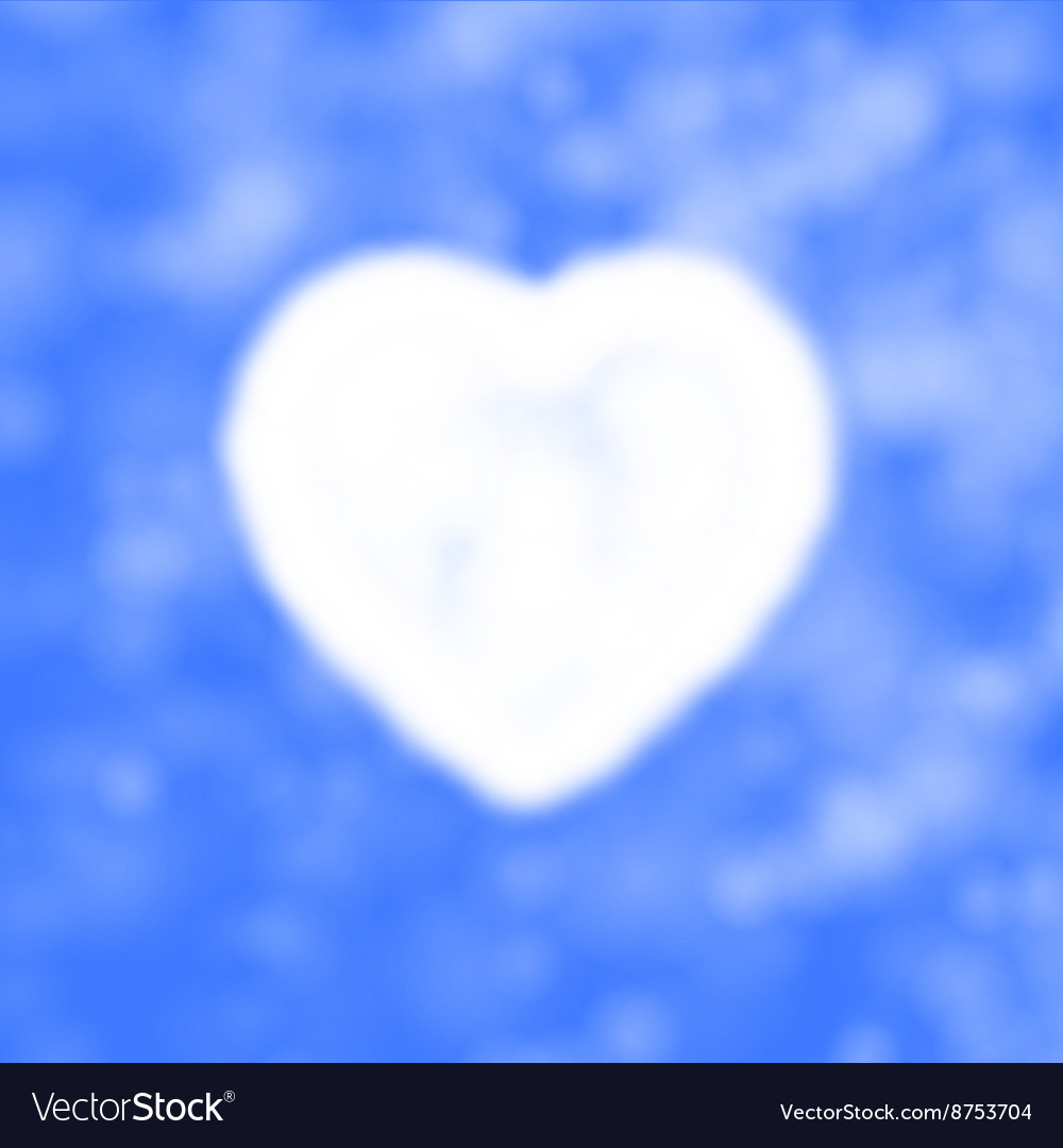 Cloud in the form of heart