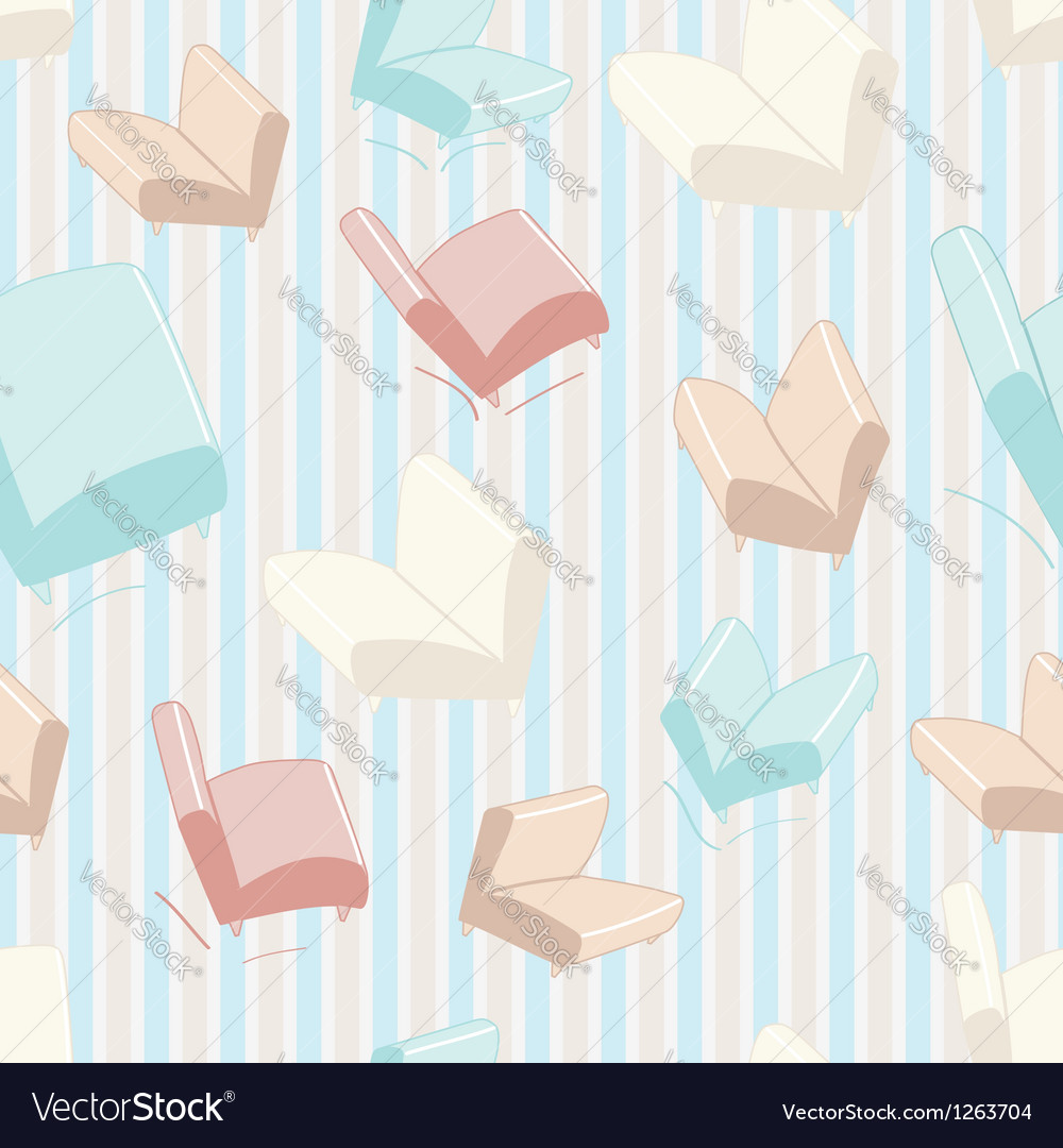 Sofa and chair background pattern