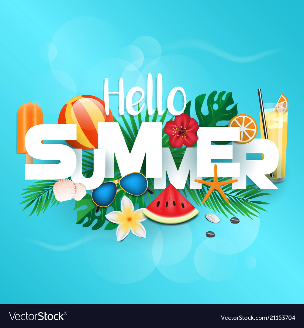 Summer background 2018
