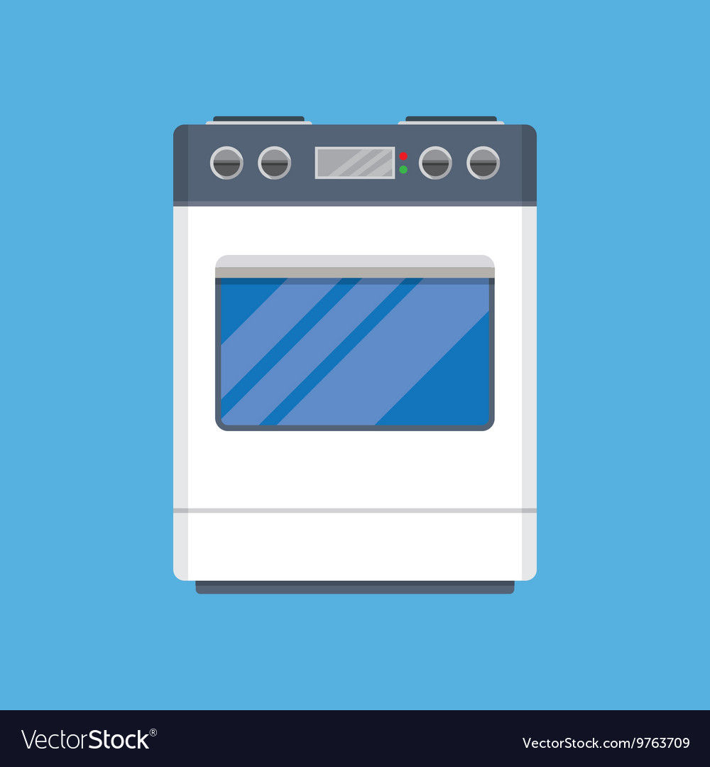 Electric Cooker Oven Royalty Free