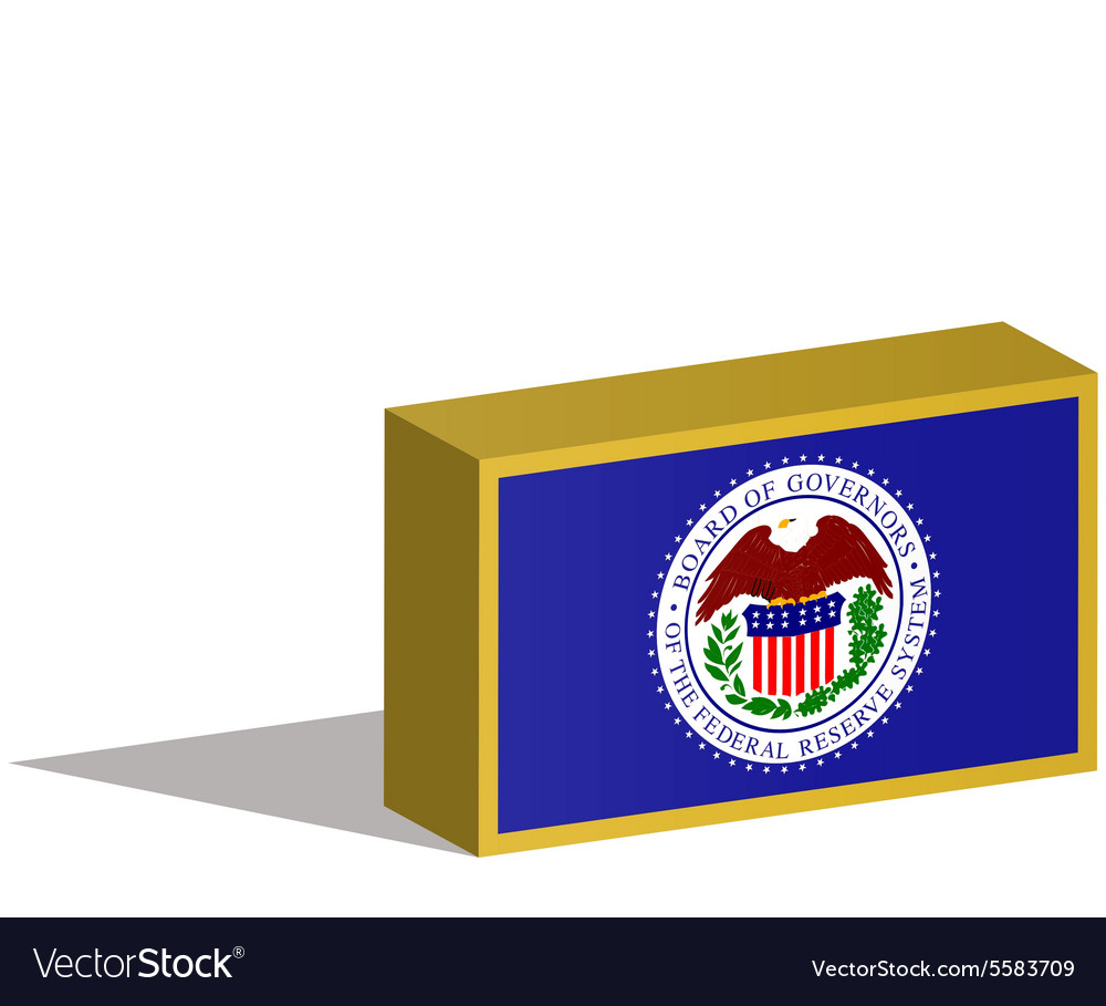 Federal Reserve System Royalty Free Vector Image