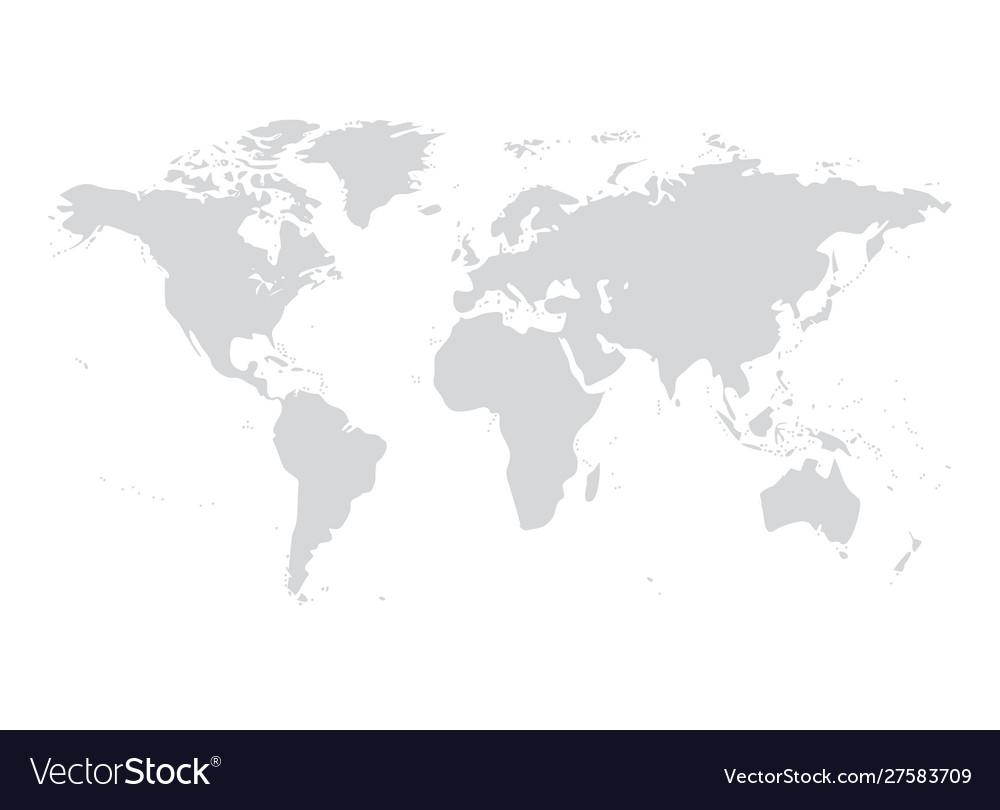 World map australia asia