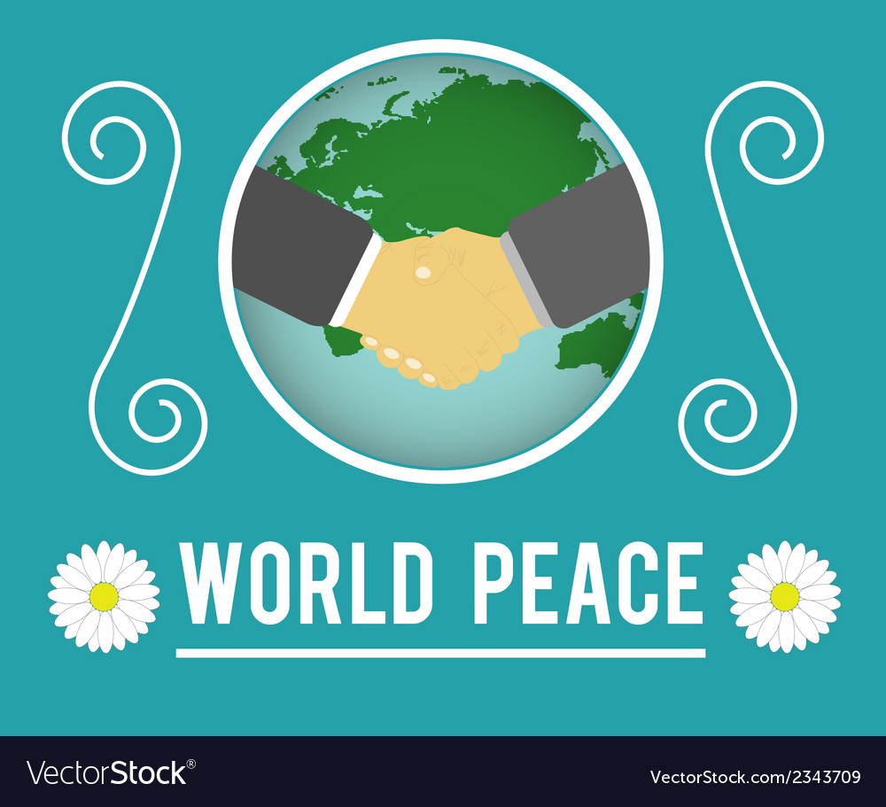 World peace concept