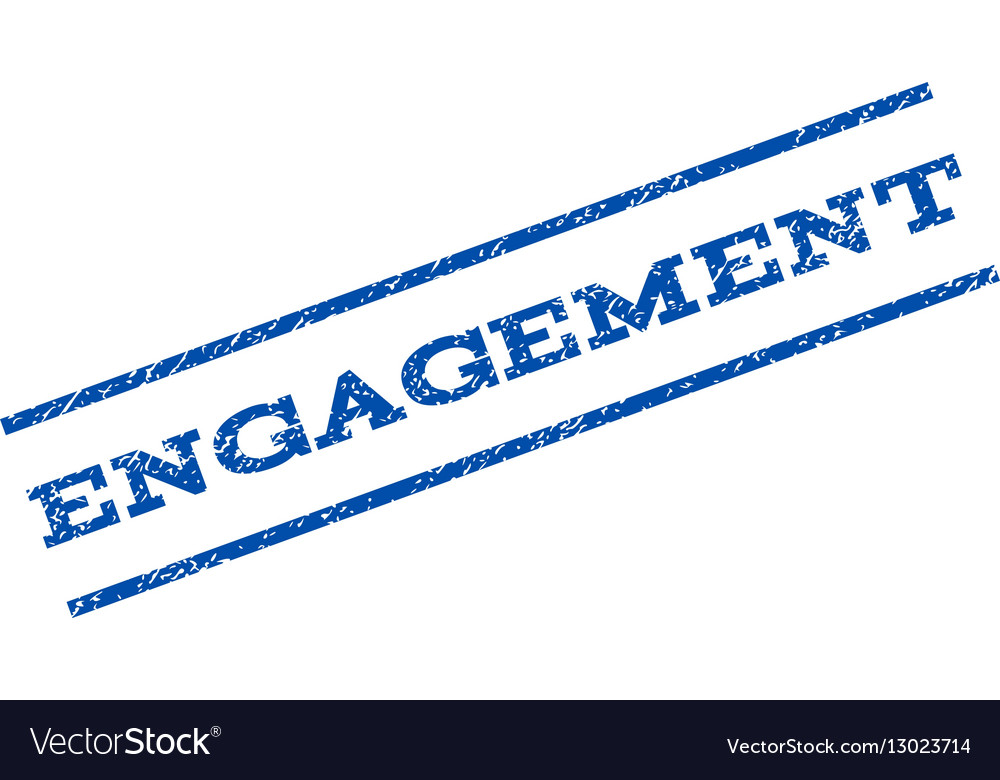 Engagement Watermark Stamp