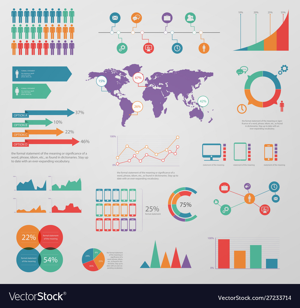 Infographic graphic business diagram chart banner