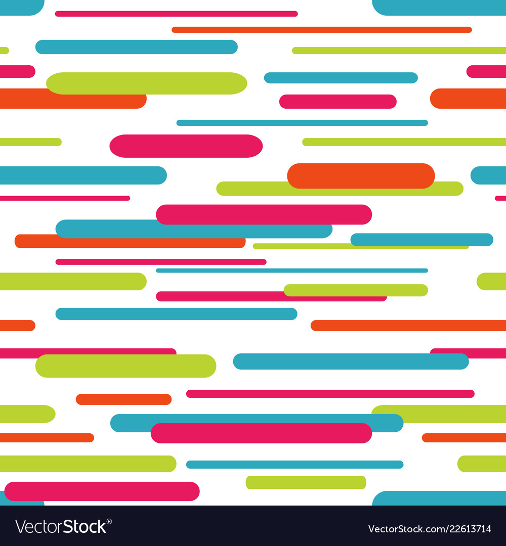 Seamless pattern with geometric dynamic background
