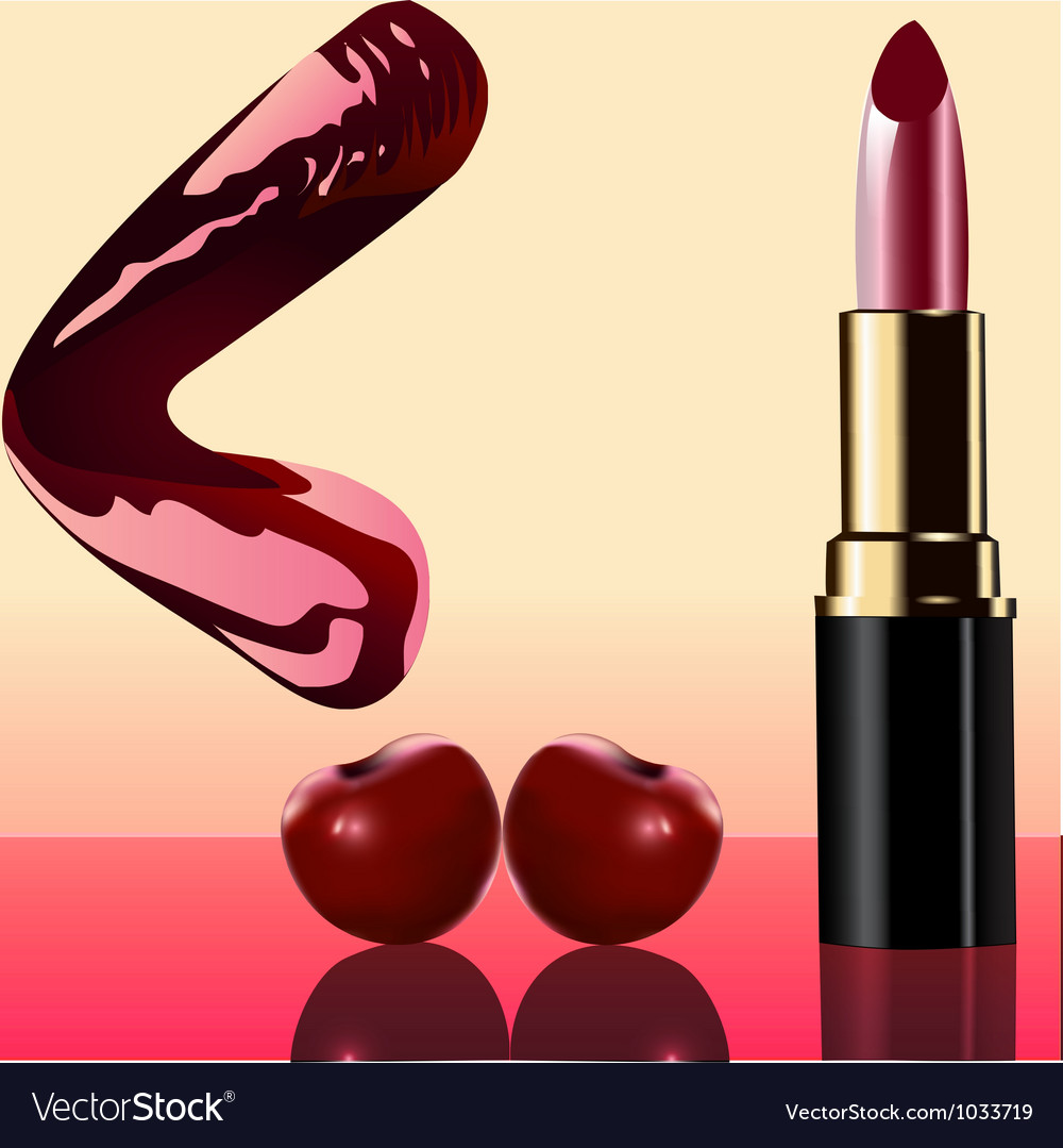 Cosmetics lipstick background