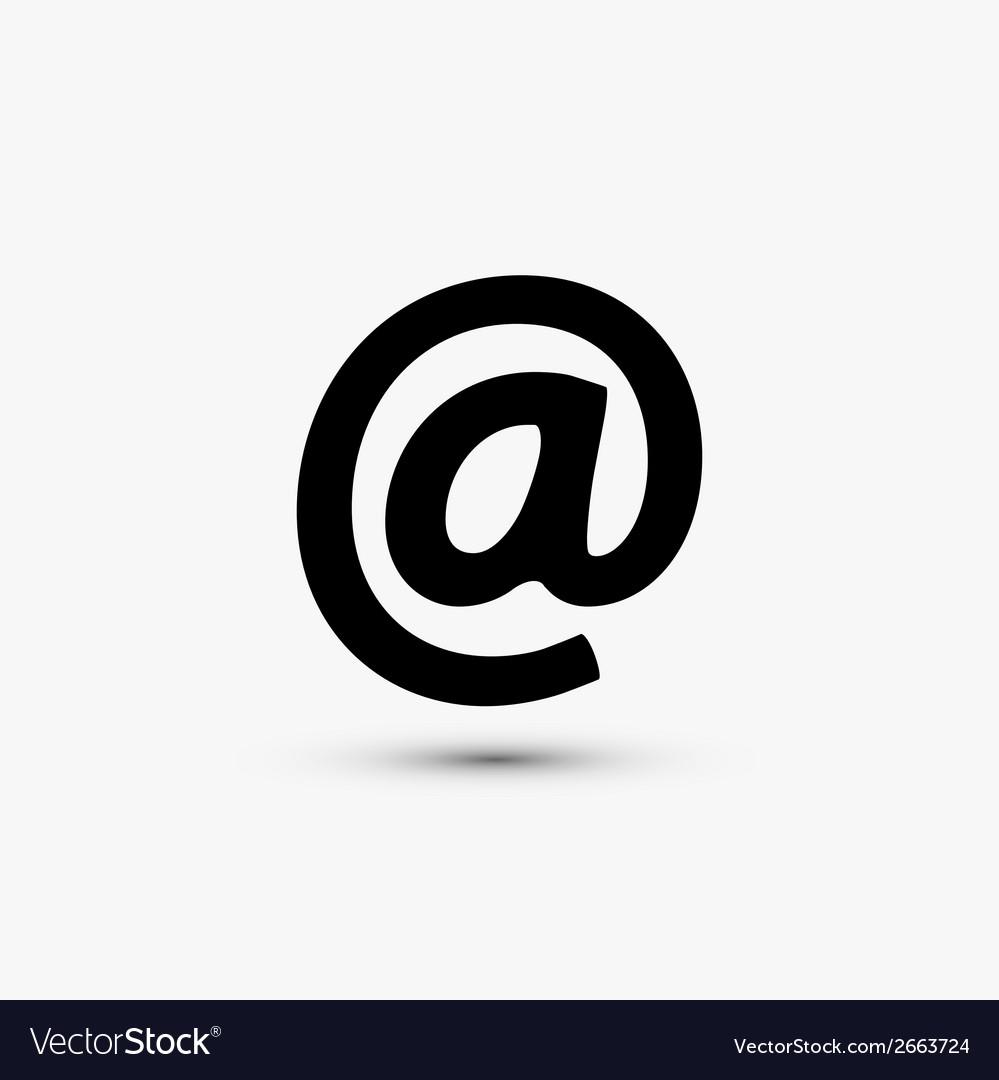 Black web icon on white background Eps10