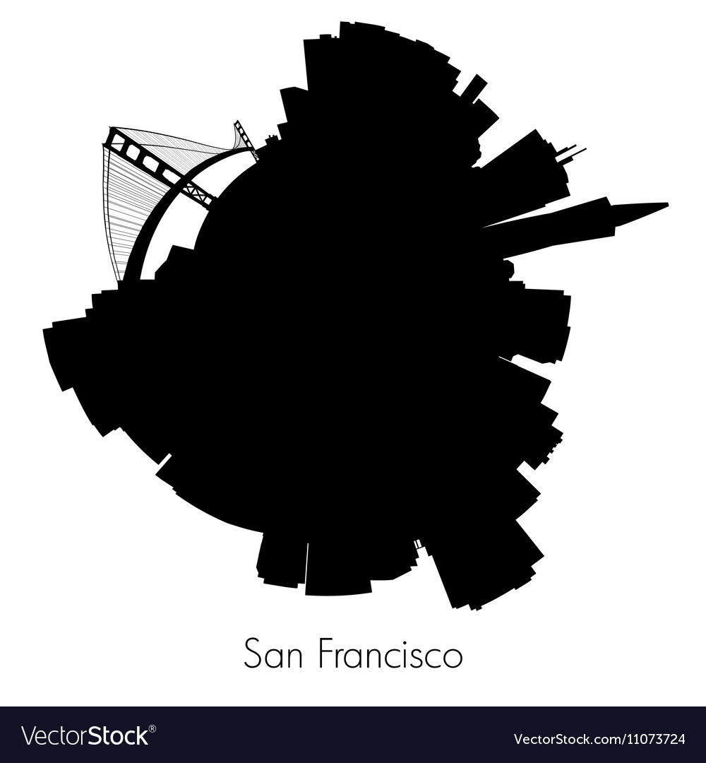 San Francisco circular skyline
