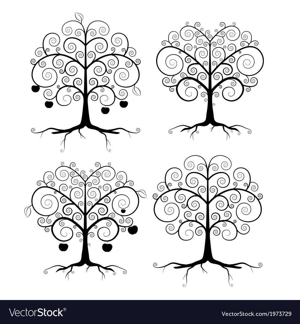 Abstract Black Tree Set