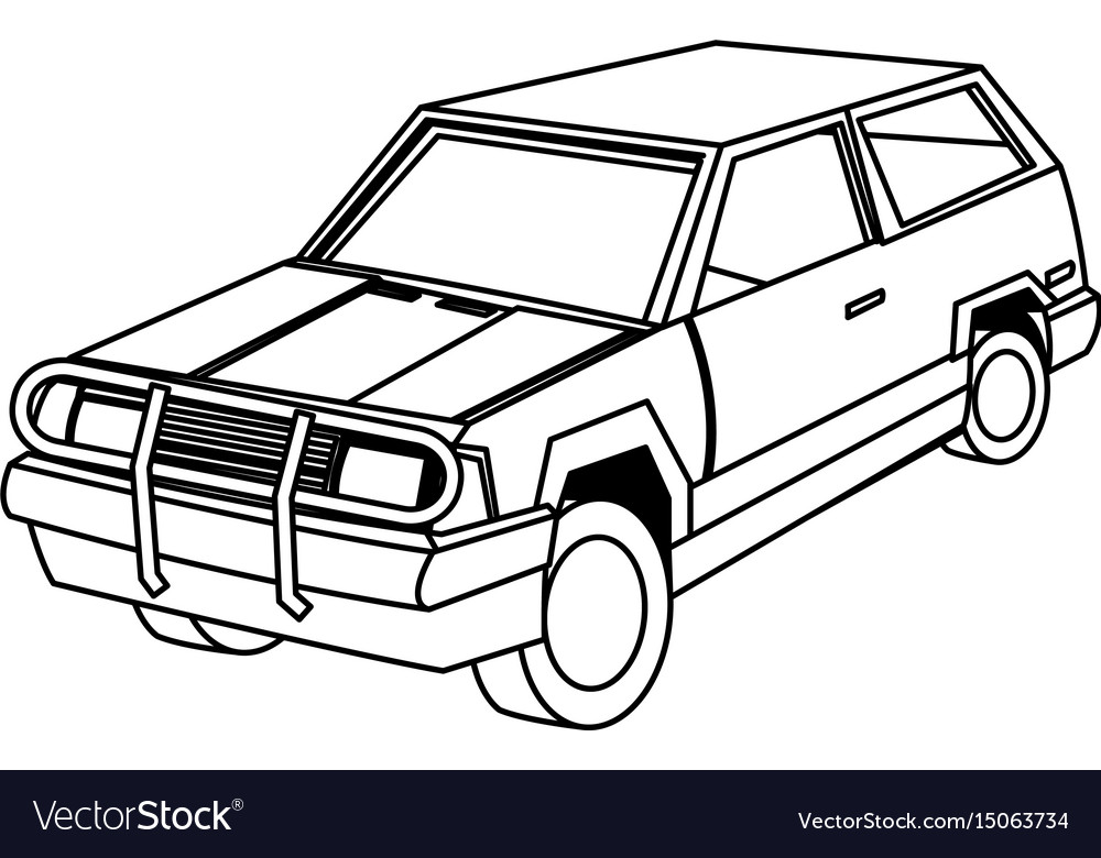 View Suv Rear Vector Images 46
