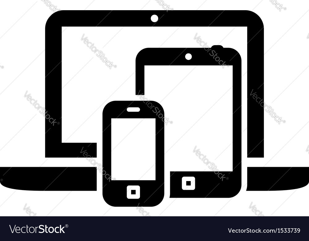 Mobile devices symbol
