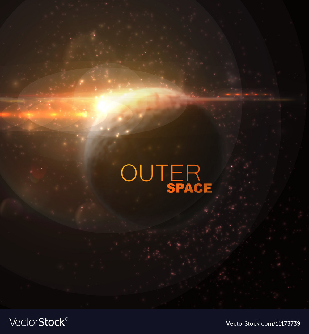 Outer Space Abstract
