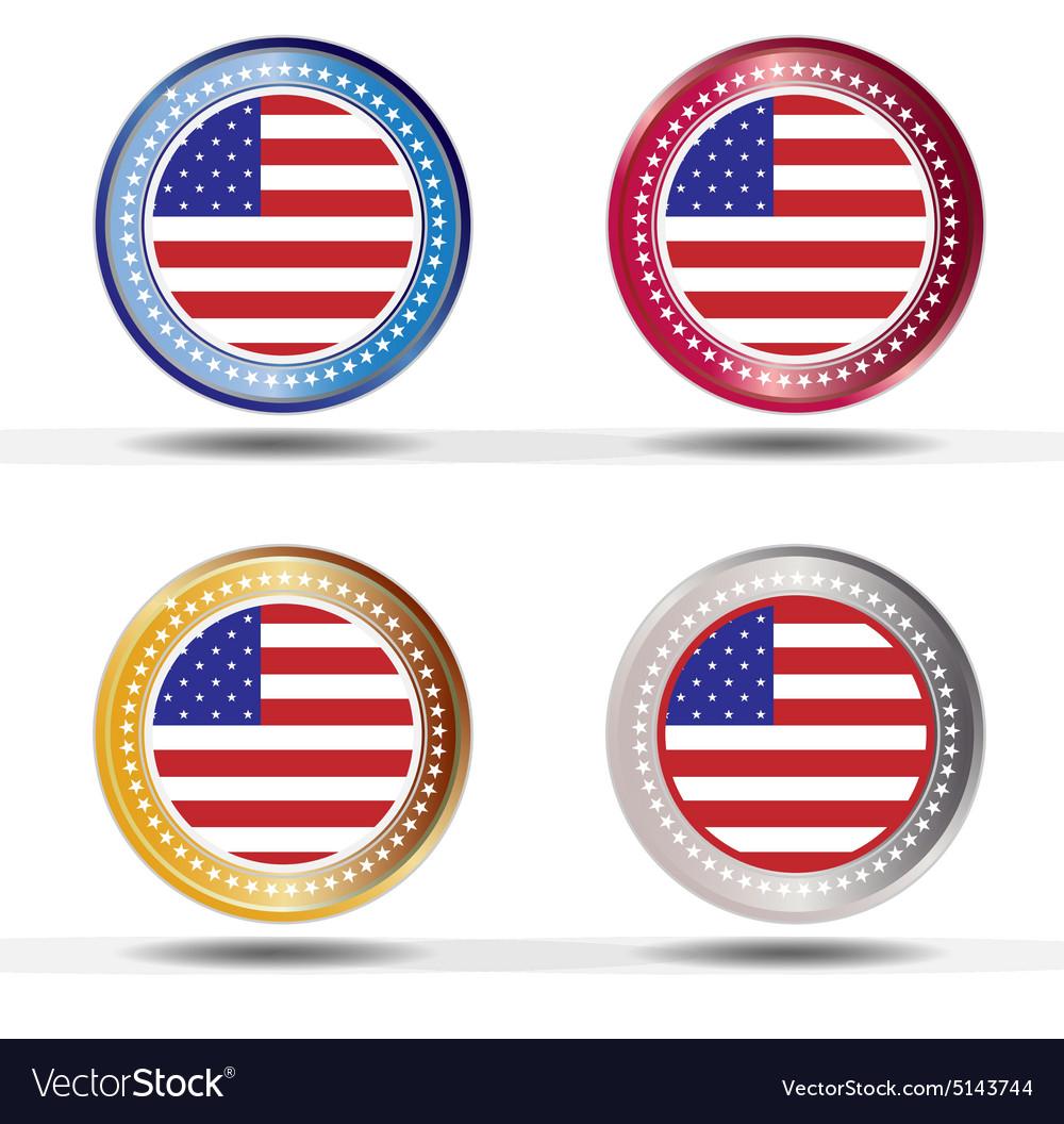 Banner flag American