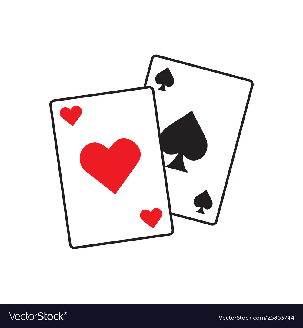 Poker icon graphic design template