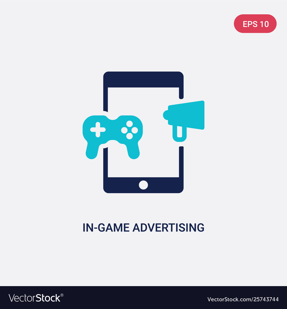Two color in-game advertising icon from general-1