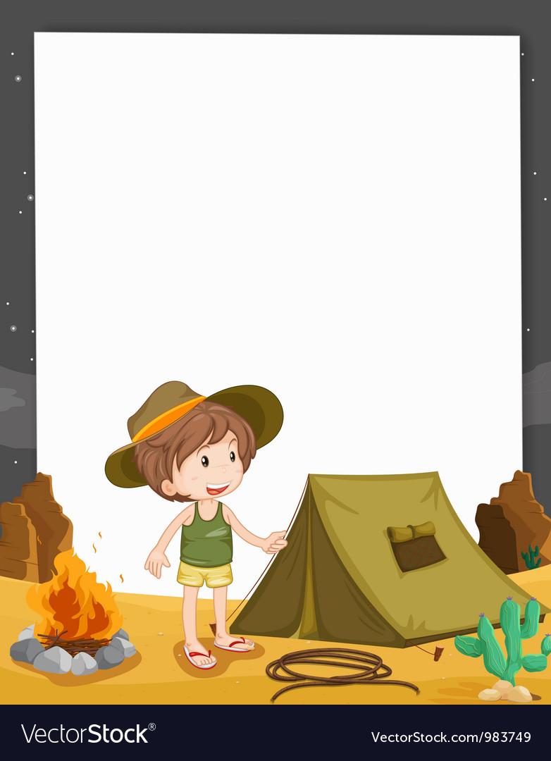 Camping Border