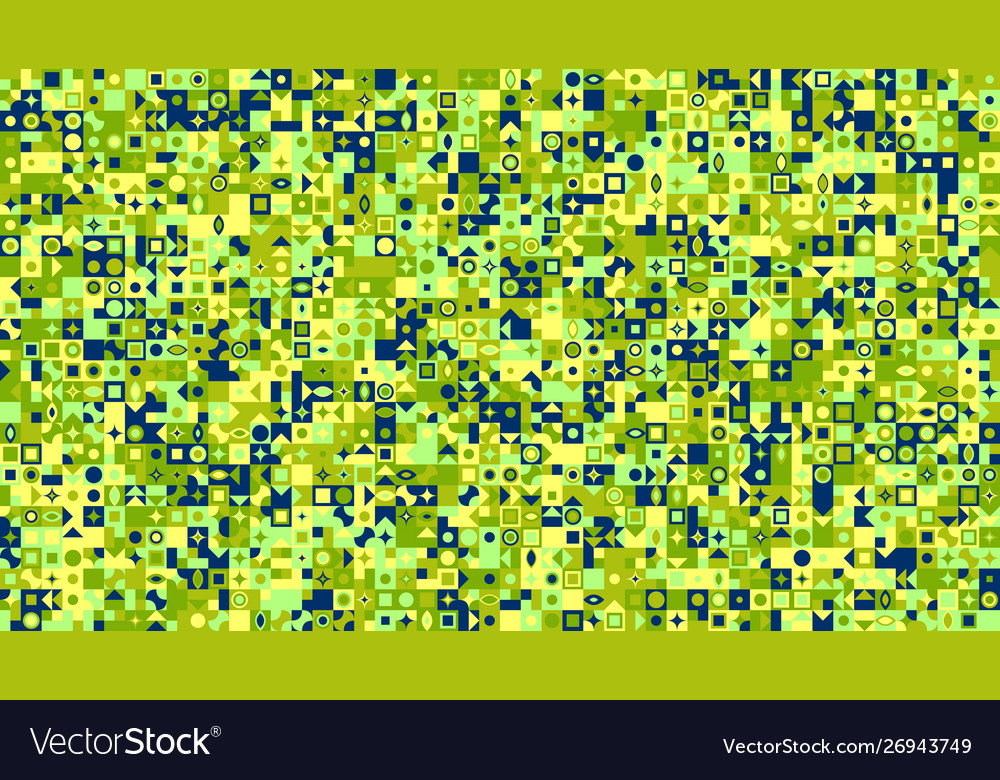 Chaotic colorful abstract mosaic pattern website
