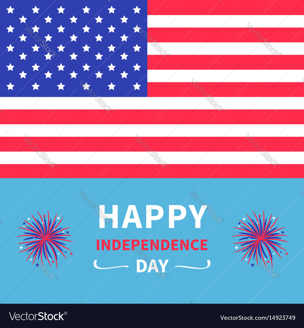 Happy independence day united states america