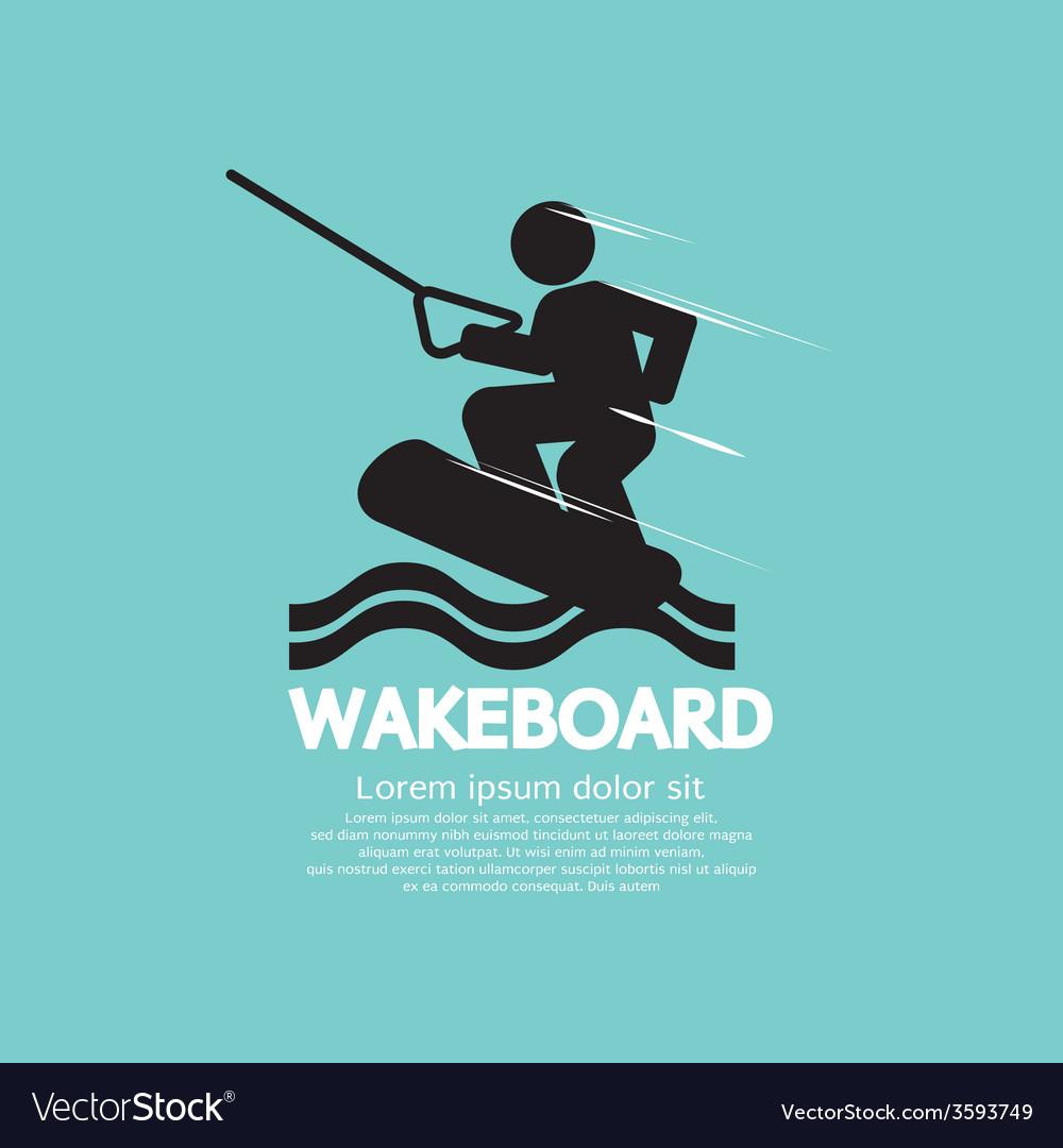 Wakeboard Player Symbol