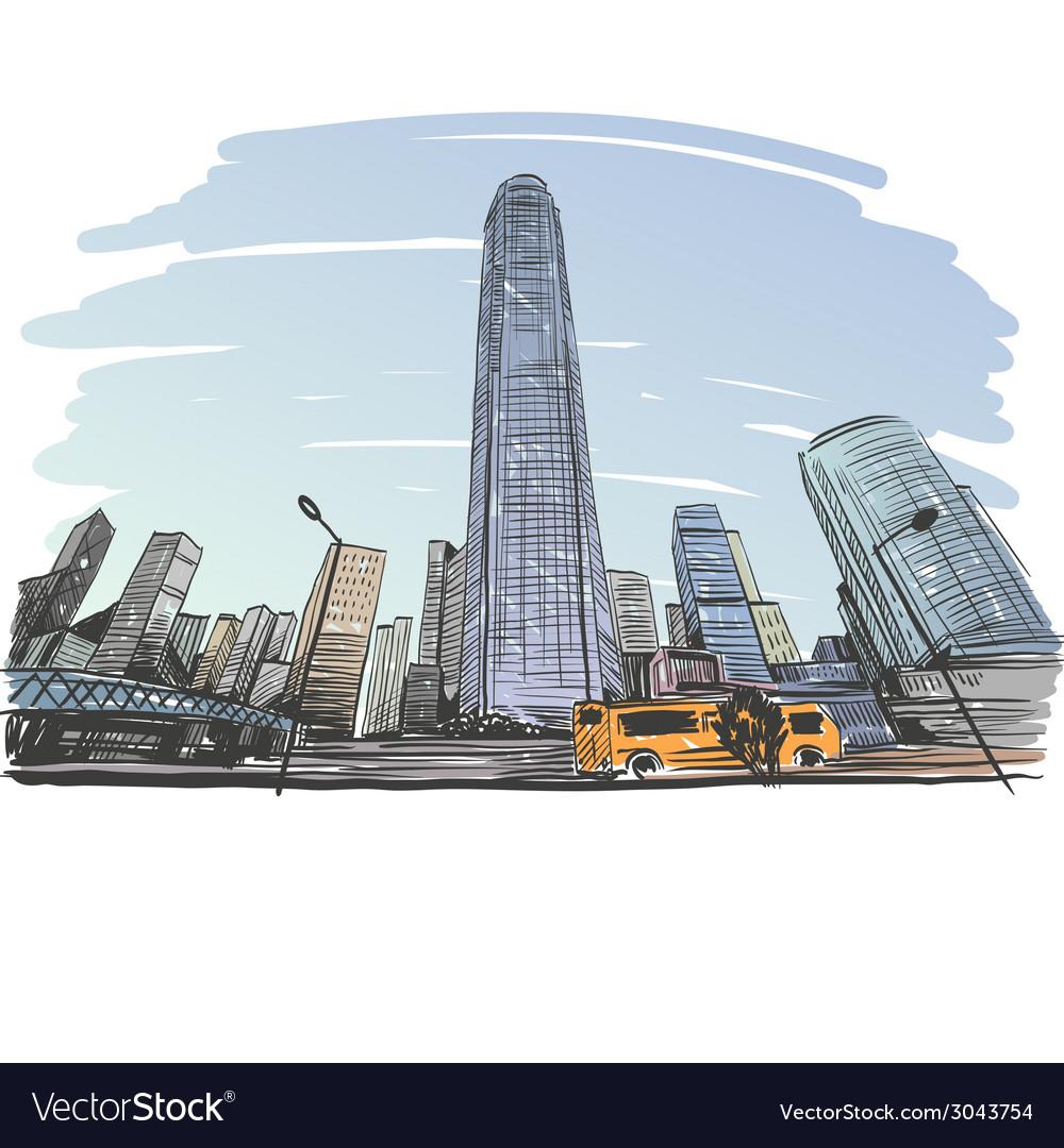 Hong Kong drawing