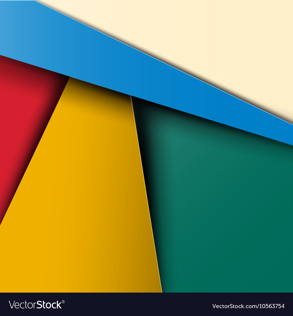Material Design Pattern - Colorful Abstract Retro