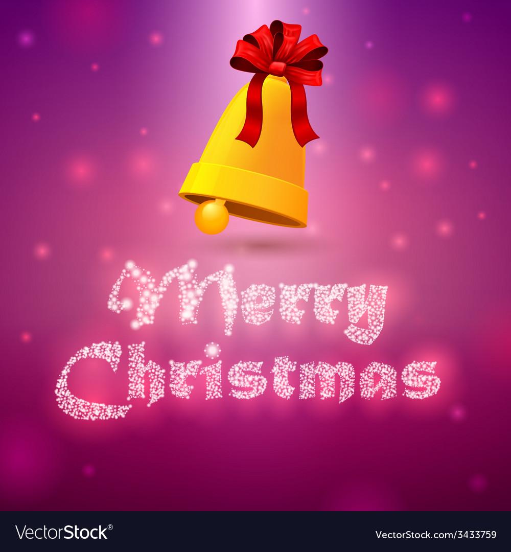 Bells merry christmas 2