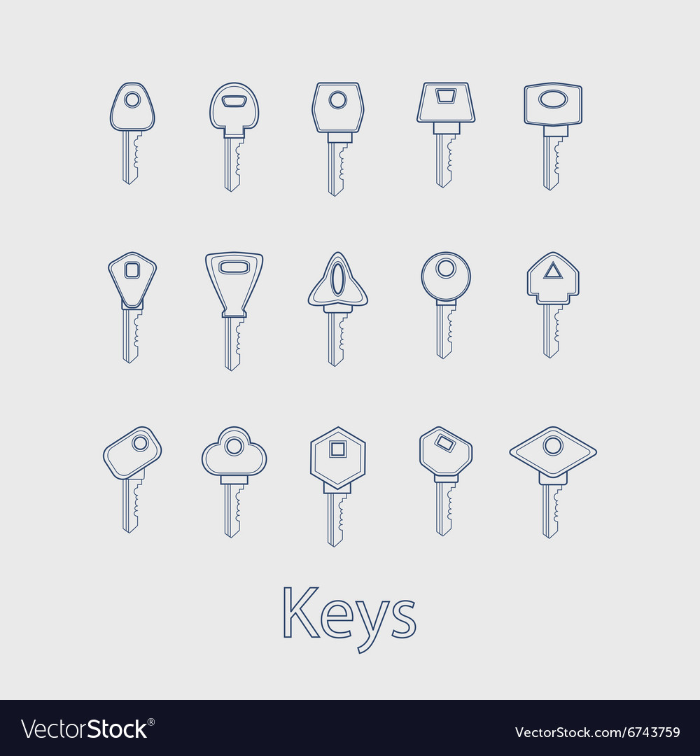 Keys from the house