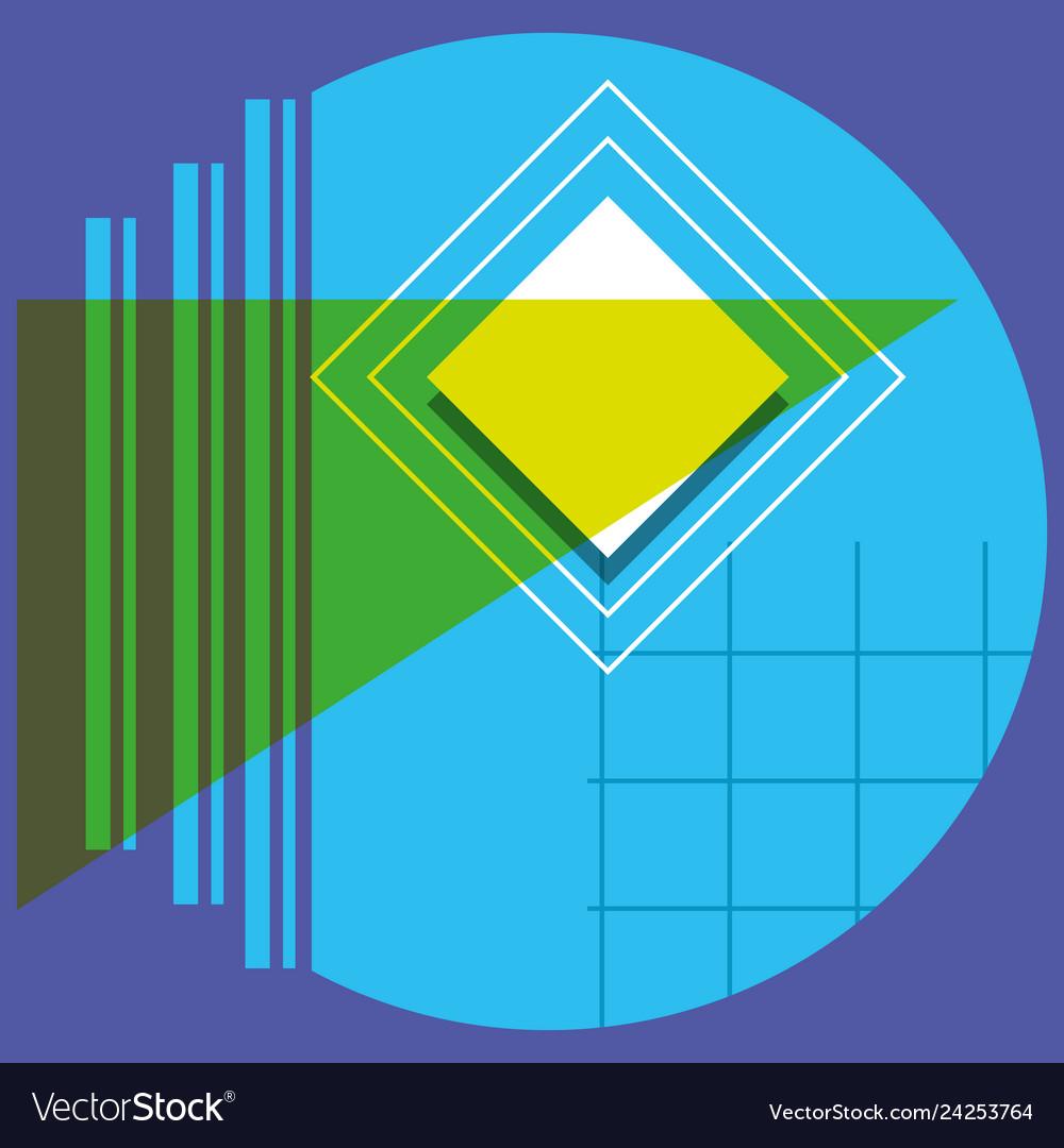 Pattern of geometric figures
