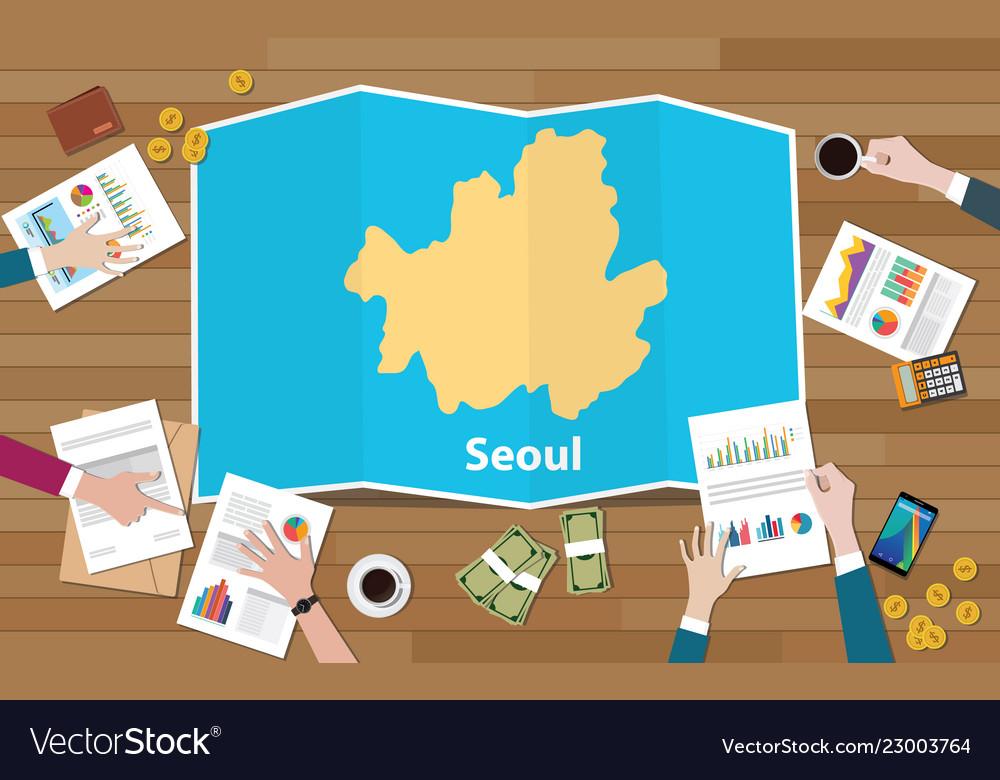 Asian capital seoul