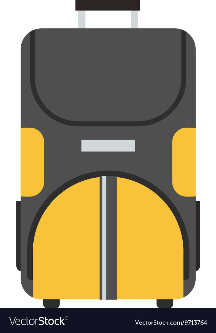 Wheel Travel Bag Icon