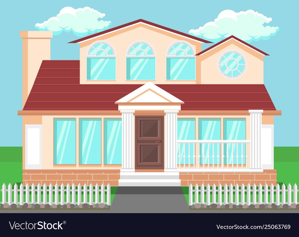 Luxury countryside house flat