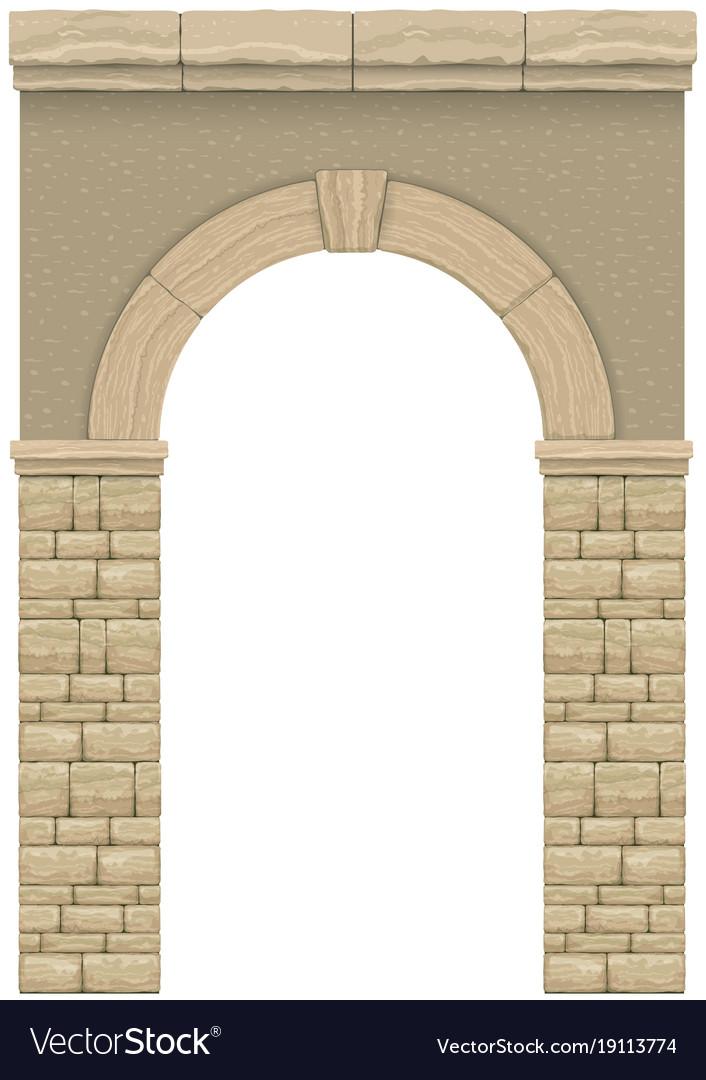 Classic antique arch 1