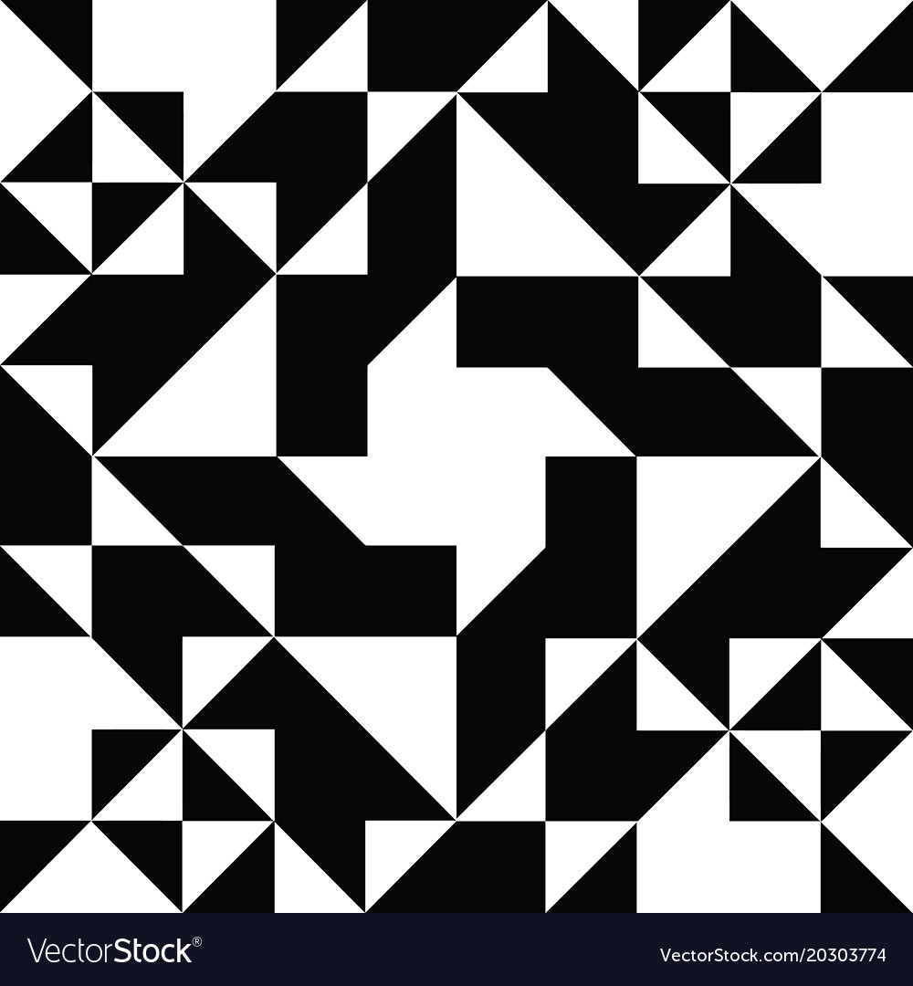 Geometric Shapes Black And White