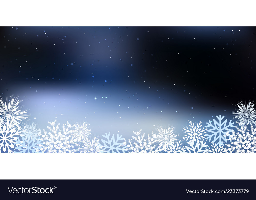 Christmas a background with snowflakes