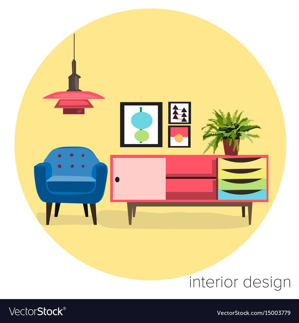 Interior Design Furniture Logo
