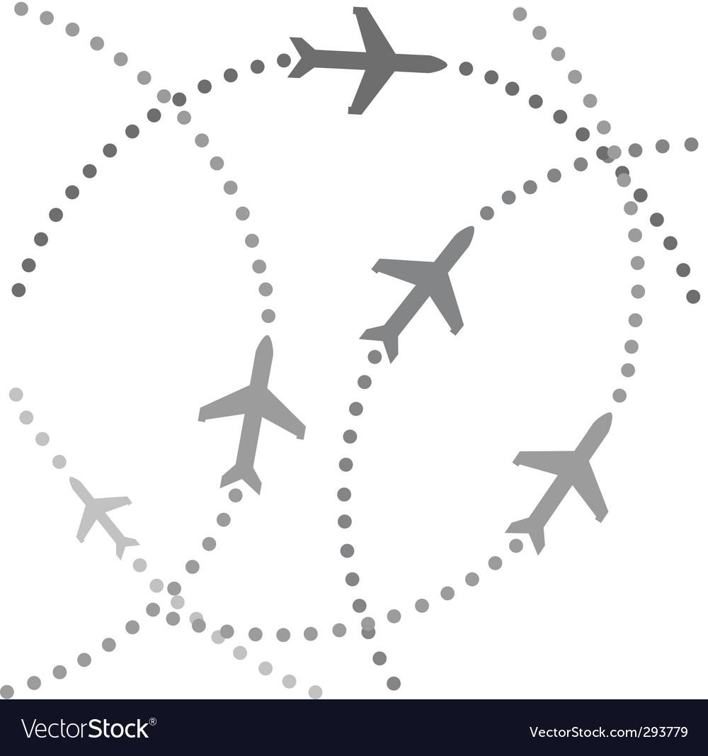 Траектория самолета картинки