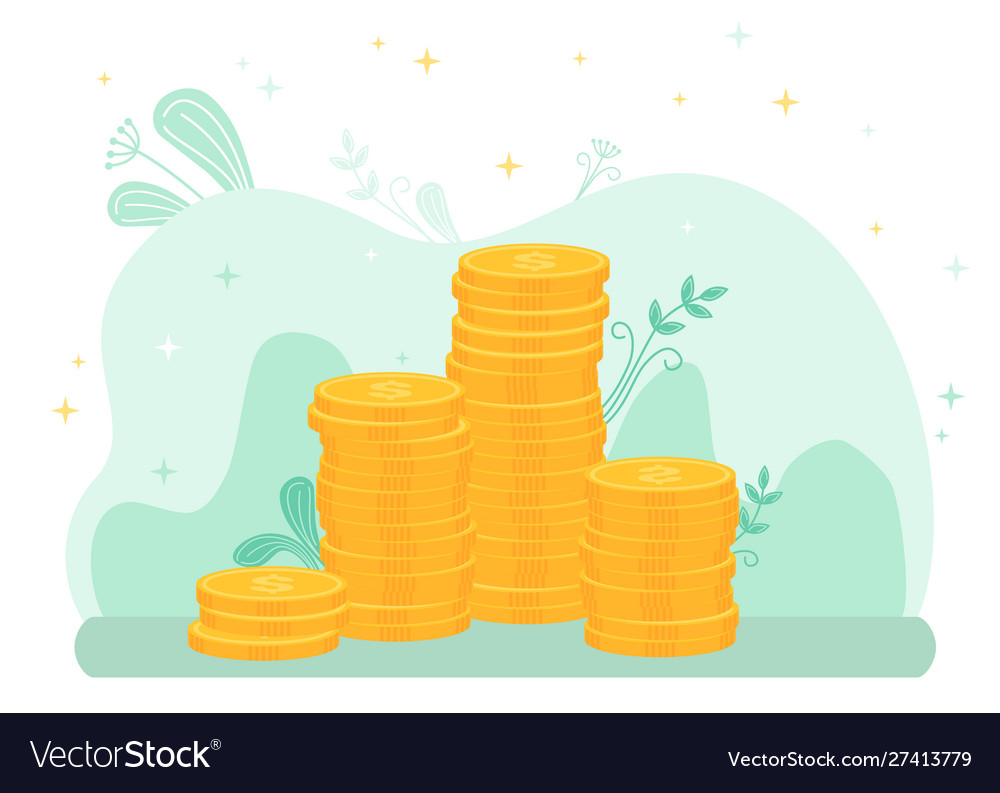 Stacks gold coins investments growth