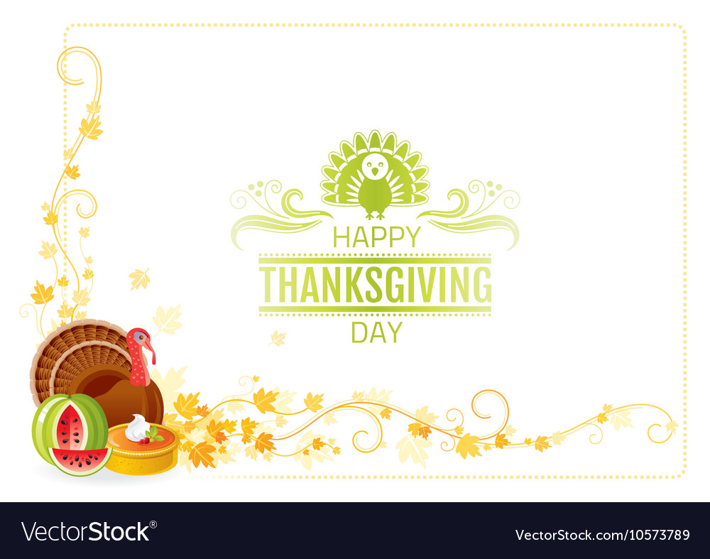 Autumn thanksgiving background with text