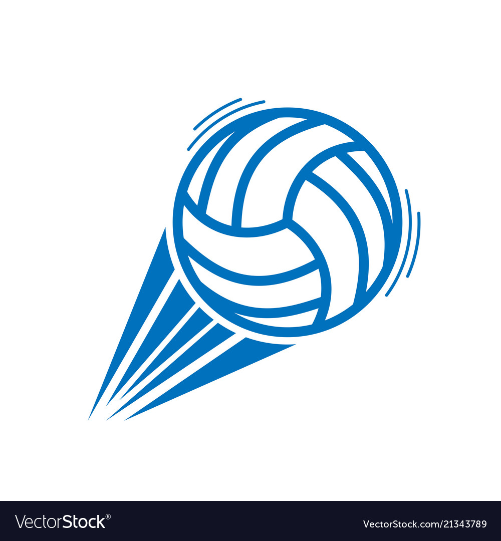 Blue volleyball move
