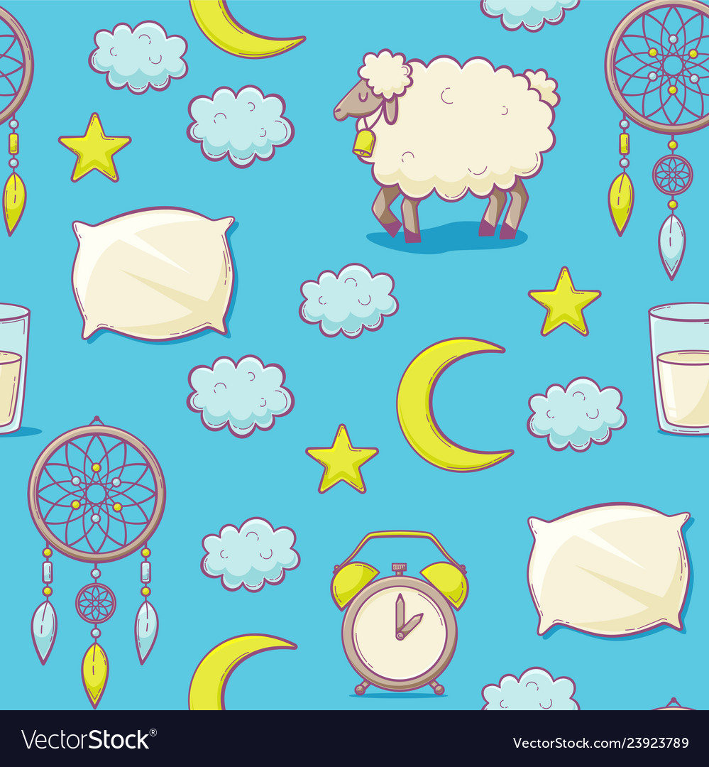 Sleep concept with pillow