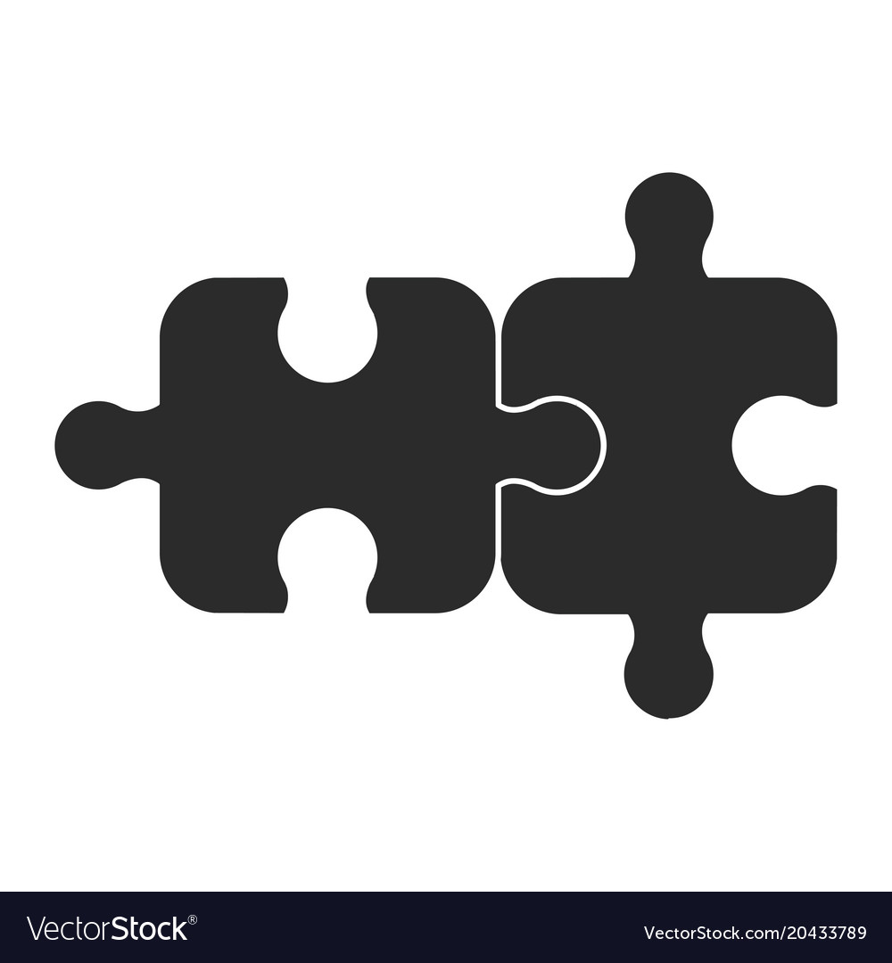 Two piece of puzzle