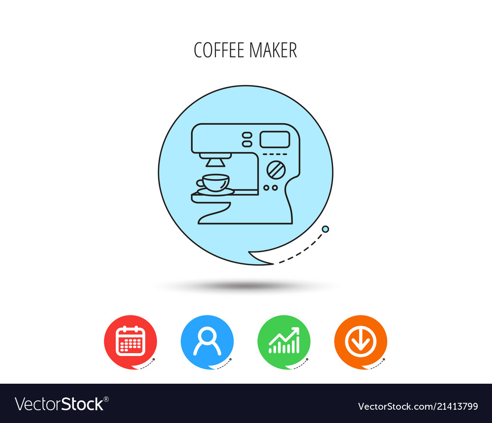 Sign Diagram Maker Trusted Wiring Diagrams Coffee Icon Hot Drink Machine Vector Image Ice