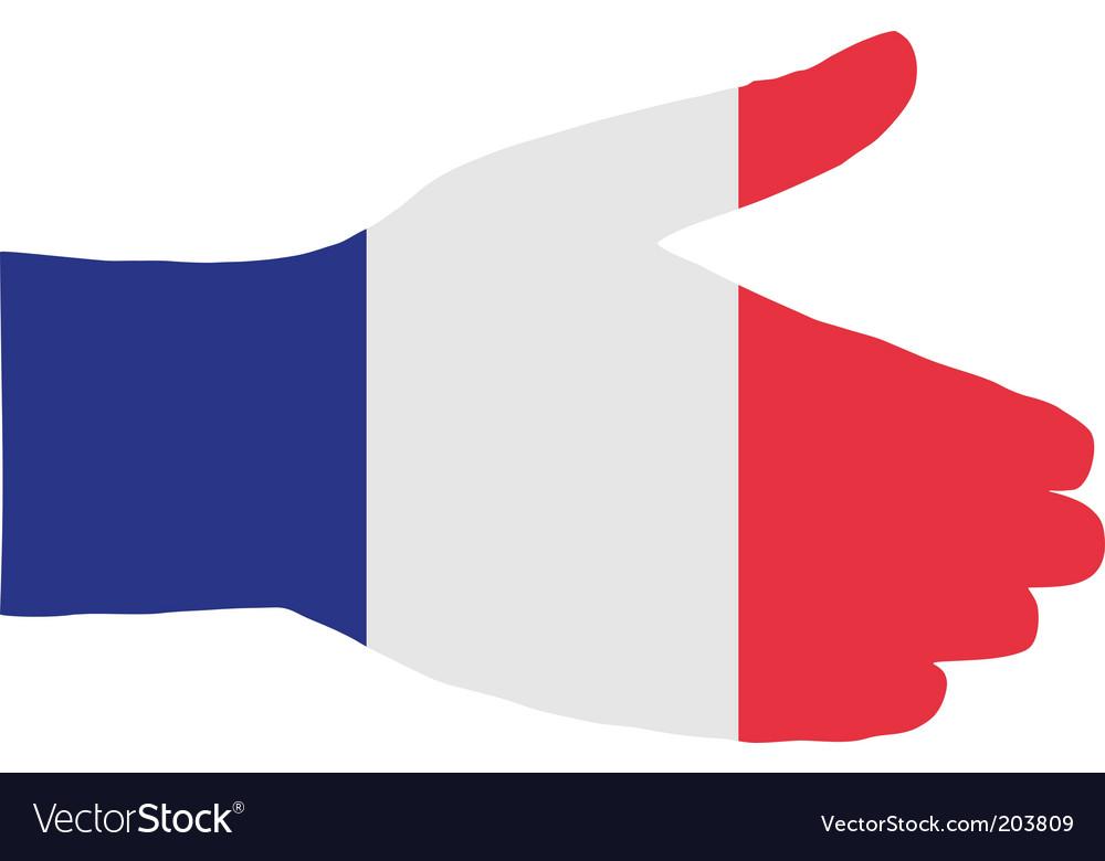 French handshake