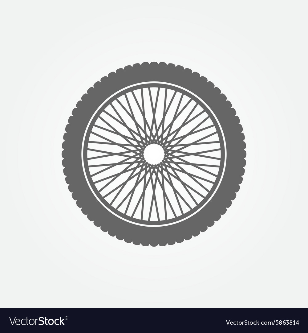 Motorcycle wheel logo
